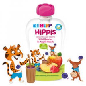 HiPP BIO 100% ovoce Jablko-Hruška-Banán 100 g