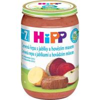 HiPP BIO Červená řepa s jablky a hovězím masem 220 g