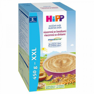 HiPP Praebiotik Kaše vícezrnná se švestkami 450 g