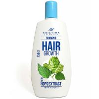 HRISTINA Přírodní šampon pro zdravé a silné vlasy s chmelem 200 ml