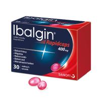 IBALGIN Rapidcaps 400 mg 30 měkkých tobolek