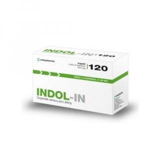 INDOL-IN pro ženy 120 kapslí