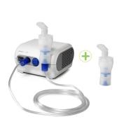 OMRON Inhalátor kompresorový NE-C28P + 2. inhalační set