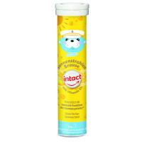 INTACT Sluneční svit vitamín D3 15 šumivých tablet citron