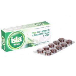 ISLA Moos bylinné pastilky 30 tablet