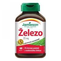 JAMIESON Železo 35 mg s postupným uvolňováním 60 tablet