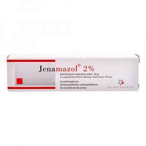 JENAMAZOL 2% Poševní krém s aplikátorem 20 g