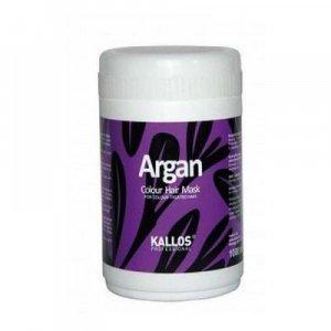 Kallos Argan Colour Hair Mask Maska pro barvené vlasy 1000 ml