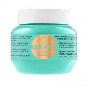 KALLOS KJMN Keratin maska pro všechny typy vlasů 275 ml