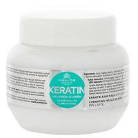 KALLOS KJMN Keratin hydratační keratinová maska na suché vlasy 1000 ml