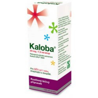 KALOBA 20 mg / 7,5 ml sirup 100 ml