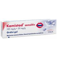 KAMISTAD SENZITIV  1X10GM Ústní gel