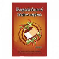CAPSICOLLE Kapsaicinová hřejivá náplast 12x18 cm 50 ks