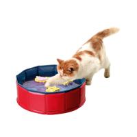 KARLIE FLAMINGO bazének se 3 hračkami pro kočky 30x10 cm