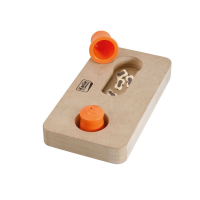 KARLIE FLAMINGO Interaktivní dřevěná hračka GAUSS 22x12 cm