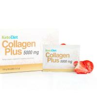 KETODIET Collagen Plus 5000 mg jahoda 30 sáčků