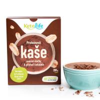 KETOLIFE Proteinová kaše ovesné vločky a příchuť čokoláda 200 g