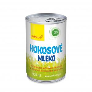 WOLFBERRY Kokosové mléko 400 ml BIO