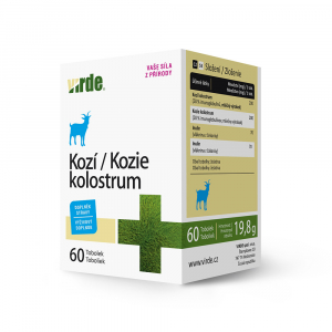 VIRDE Kozí kolostrum 60 tablet