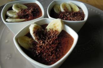 Kuchařkou: Kakaový pudink z tapioky