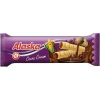 ALASKA Kukuřičné trubičky bez lepku kakaové 18 g