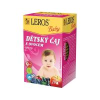 LEROS BABY Dětský čaj s ovocem 20 sáčků