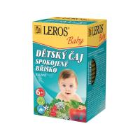 LEROS BABY Dětský čaj spokojené bříško 20 sáčků