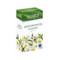 LEROS Dětský bylinný čaj s heřmánkem 20 sáčků