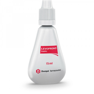 LEVOPRONT Perorální kapky, roztok 15 ml