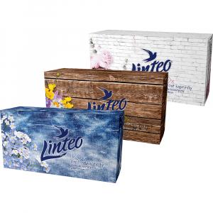 LINTEO Papírové kapesníky 2-vrstvé BOX 150 ks