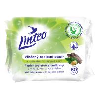 LINTEO Vlhčený toaletní papír s extraktem z dubové kůry 60 ks
