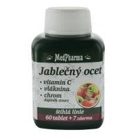 MEDPHARMA Jablečný ocet + vláknina + vitamin C + chrom 67 tablet