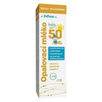 MEDPHARMA Opalovací mléko SPF50 baby 200 ml+30 ml ZDARMA