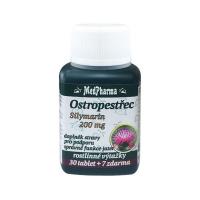 MEDPHARMA Ostropestřec Silymarin 200 mg 37 tablet