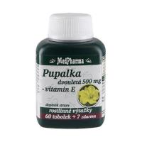 MedPharma Pupalka dvouletá 500 mg + vitamín E 67 tobolek