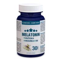 CLINICAL Melatonin Mučenka B6 30 tablet 1+1 ZDARMA