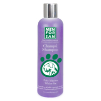 MENFORSAN Šampon pro zesvětlení bílé srsti pro psy 300 ml