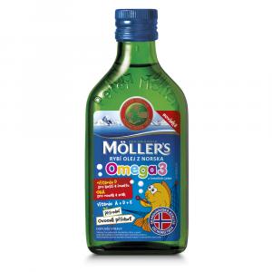 MÖLLER´S Omega 3 ovocná příchuť 250 ml
