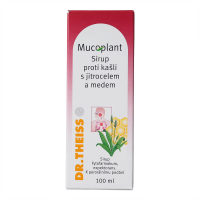 DR. THEISS Mucoplant Jitrocelový sirup s medem 100 ml
