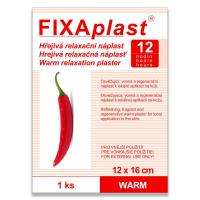 FIXAPLAST  WARM hřejivá náplast 12x16cm 1ks