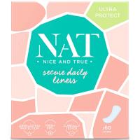 NAT nice & true Slipové vložky – secure daily 60 ks