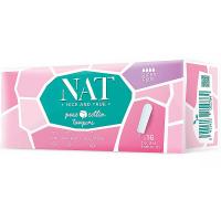 NAT nice & true Tampony z organické bavlny – super plus 16 ks