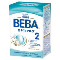 BEBA Optipro 2 Pokračovací kojenecké mléko od 6.měsíce 600 g