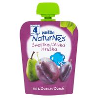 NESTLÉ Naturnes Ovocná kapsička Švestka Hruška 90 g