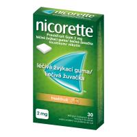 AKCE NICORETTE Freshfruit 2 mg Léčivá žvýkací guma 30 kusů