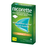 AKCE NICORETTE Freshfruit 4 mg Léčivá žvýkací guma 30 kusů