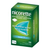 AKCE NICORETTE Icemint 2 mg Léčivá žvýkací guma 105 kusů