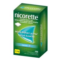 AKCE NICORETTE Icemint 4 mg Léčivá žvýkací guma 105 kusů