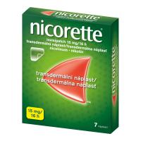 AKCE NICORETTE Invisipatch 15 mg/16 h náplast 7 kusů