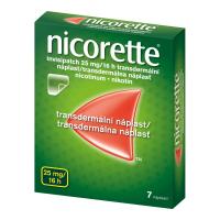 AKCE NICORETTE Invisipatch 25 mg/16 náplast 7 kusů